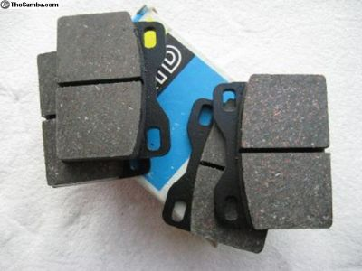JURID Front Brake Pad Set for Porsche 924