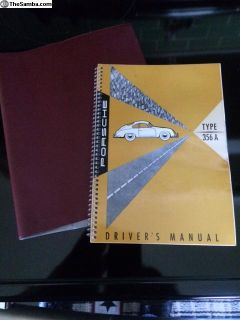 Porsche 356 owners manual
