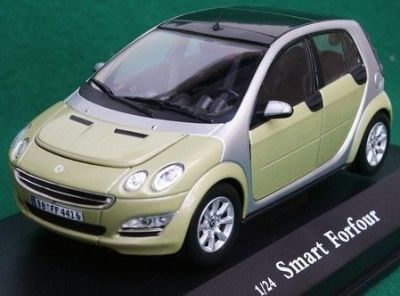 Sell Smart Forfour 1/24 scale diecast by Cararama NEW in BOX Daimler Chrysler brabus motorcycle in New Kensington, Pennsylvania, United States, for US $9.95