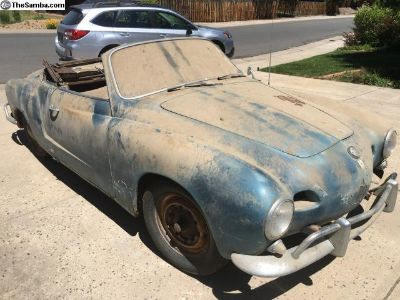 [WTB] Interested in an Old VW Ghia For Restoration