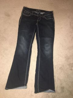 Size 30/33 silvers barely worn jeans womens