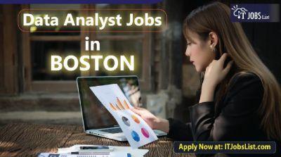 Data Analyst Jobs in Boston - IT Jobs List