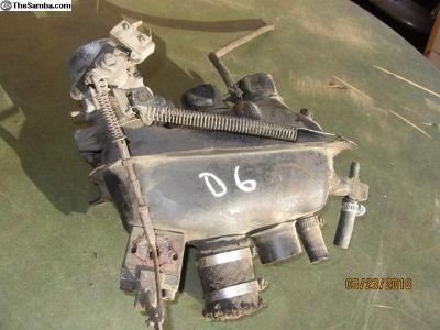 bay window bus throttle body/plenum D6