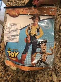 Toy Story Woody Costume Size Small 4-6