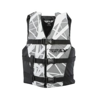 Buy FLY Racing Youth Vest Life Vest Black/Gray OS motorcycle in Holland, Michigan, United States, for US $36.42