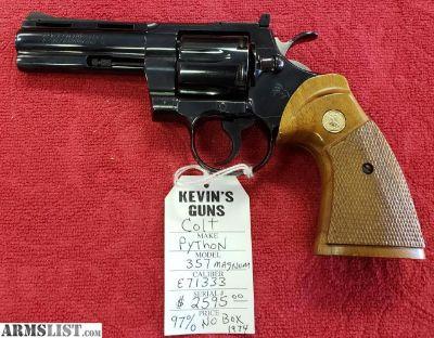 For Sale: Colt Python 357Mag