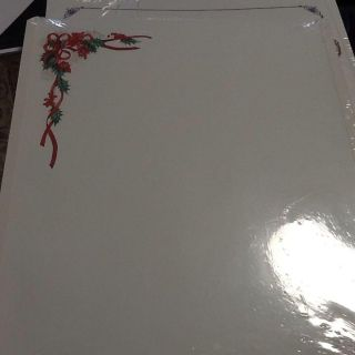 Creative Memories 8x10 Blank Scrapbook Pages and page Protectors