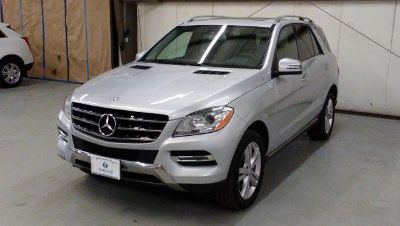 2015 Mercedes-Benz ML 350 4MATIC 4dr ML350 (Iridium Silver Metallic)