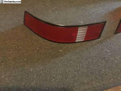 Porsche 911 tail light lenses