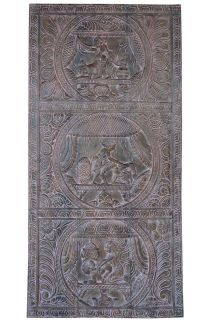 Vintage Kamasutra Barn Door Head Board Wall RELIEF CARVED Panel CLEARANCE SALE