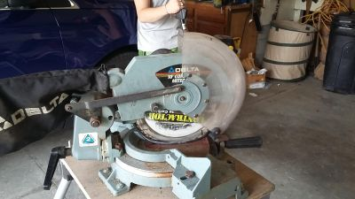 Mitre saw with stand