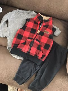 3pc Carters Outfit