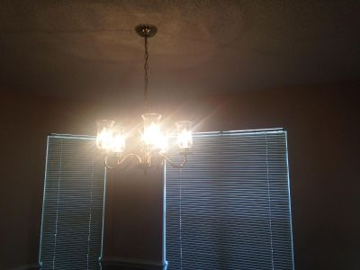 Chandelier, ready to hang with endless possibilities