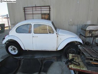 VW Baja Bug project car and parts