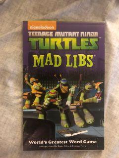 TMNT MAD LIBS