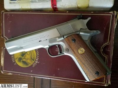 For Sale/Trade: Colt Gold Cup NM 1911 1989 model with box etc