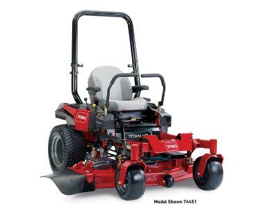 2017 Toro 60 in. (152 cm) Titan HD 1500 Series Zero Turn Mower (74452) Zero-Turn Radius Mowers Lawn Mowers Francis Creek, WI