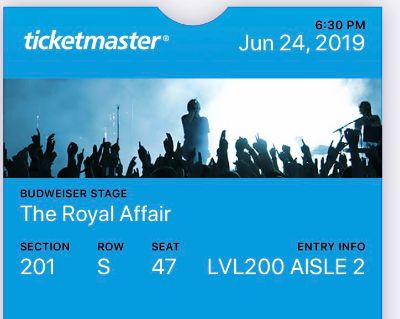 The Royal Affair YES Concert