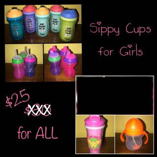 Sippy Cups for Girls