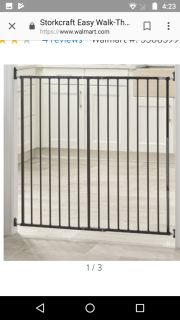 ISO single piece extra tall doorway baby/pet gate