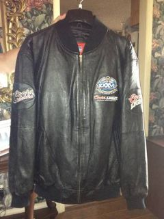 Authentic SuperBowl 2003 Leather Jacket