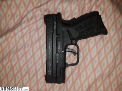 For Sale/Trade: Springfield Mod2 SubCompact