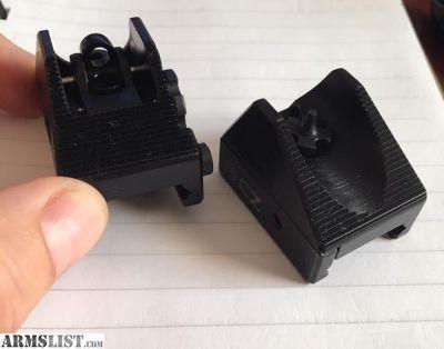 For Sale: FS: CZ EVO Iron Sight Set - Adjustable aperture
