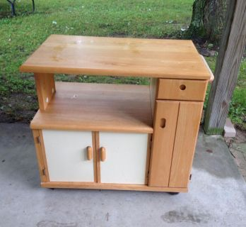 """Portable Cabinet, Great for Hobbies, Crafts or Workstation 36"""" x 22"""", 34"""" tall"""