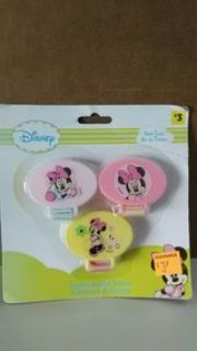 Minnie Mouse Pacifier Holder - 3 pk.