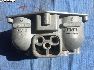 Zenith Carburetor Base Plate