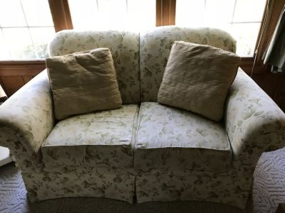 Chair, Love Seat and Couch