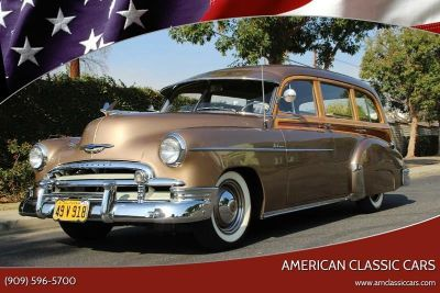 1950 Chevrolet Styleline Deluxe Tin Woody