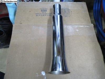 NOS Vintage Fluted Exhaust Tip
