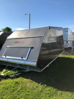 2018 ALCOM CROSSOVER 101X12 HYBRID Trail/Touring Sport Utility Trailers Francis Creek, WI