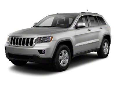 2011 Jeep Grand Cherokee Overland (Stone White)