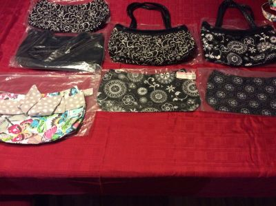 Thirty One skirt purse with two fitted skirts, so you get three looks