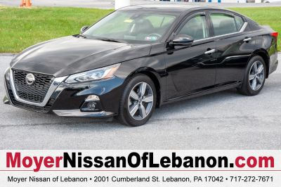 2019 Nissan Altima 2.5 SL (super black)