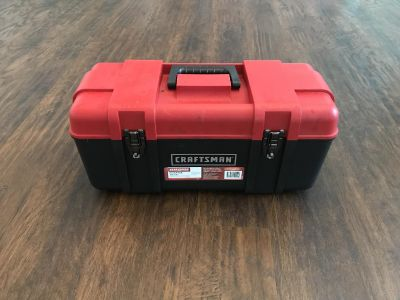 Craftsman 20-inch wide plastic tool box