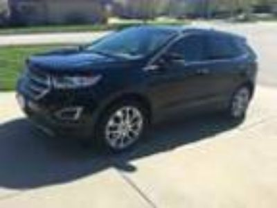 2017 Ford Edge Titanium All Wheel Drive AWD 2017 Ford Edge Titanium All Wheel