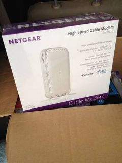Netgear High Speed Cable Modem - Docsis 3.0 - CMD31T-100NAS