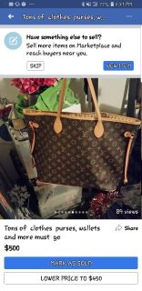 Large tote purse brand new