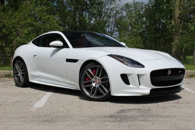 2016 Jaguar F-Type (Polaris White)