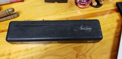 VINTAGE W.T.ARMSTRONG MUSICAL INSTRUMENT FLUTE