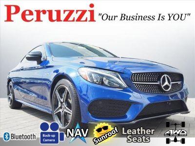 2017 Mercedes-Benz C-Class AMG C 43 (Brilliant Blue Metallic)