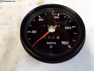 Early Porsche 911 VDO Speedometer