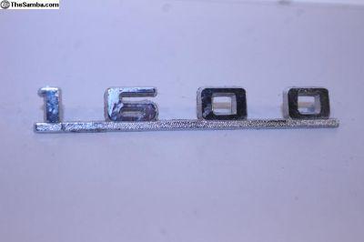 NOS 1600 Emblem Script