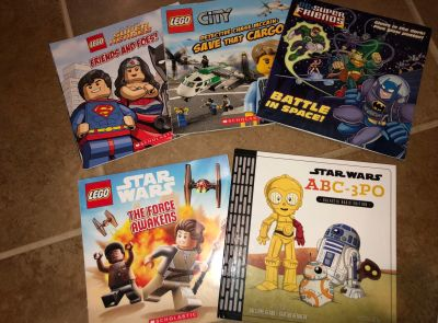 Superhero & Star Wars books