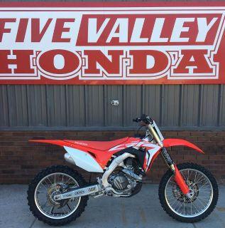 2018 Honda CRF450R Motocross Off Road Missoula, MT