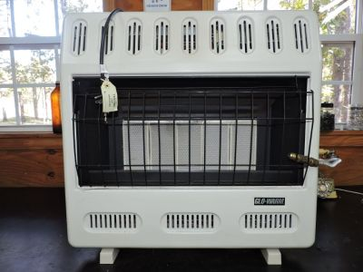2 infrared propane vent free heaters