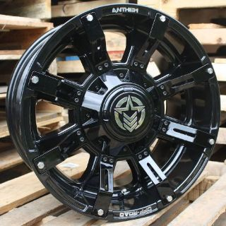 Purchase 18x9 Gloss Black Anthem Defender A711 6x135 & 6x5.5 +18 Rims LT275/70R18 Tires motorcycle in Saint Charles, Illinois, United States, for US $1,907.78